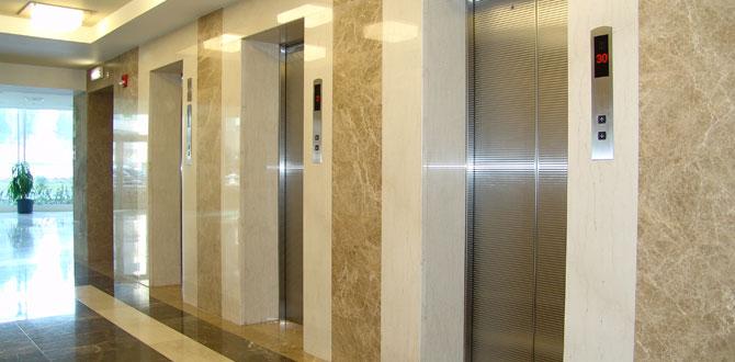 Depremde yüksek emniyet sağlayan yapay zekalı asansör…