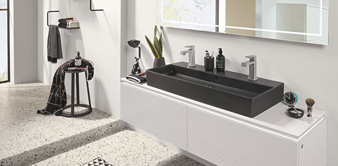 Şehirli banyolarda mat seramik trendi…