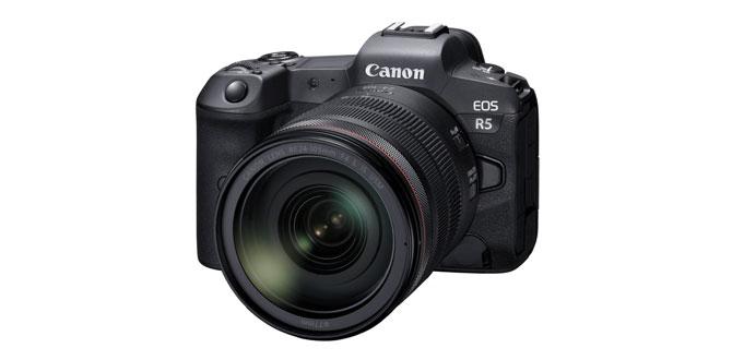 Canon'dan 8K video çözünürlüğüne sahip EOS R5