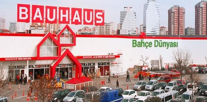 Bauhaus Türkiye, bir süre sadece online mağazasında hizmette…