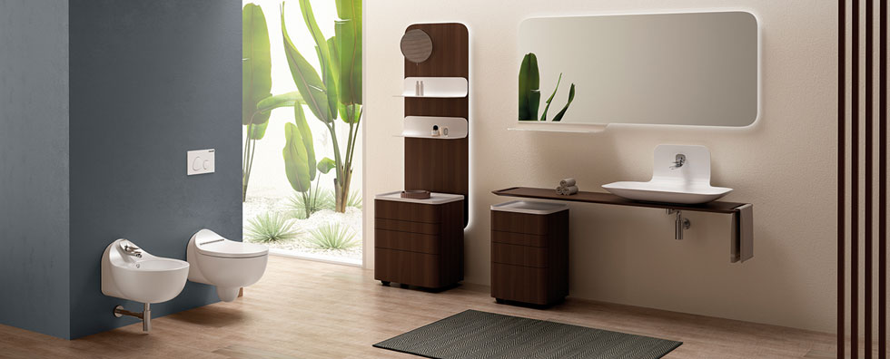 Foglia banyo serisi: Defne Koz, Creavit için tasarladı…