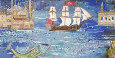 """Ressam Büyükelçi Sedef Yavuzalp """"Bir İstanbul Masalı"""" resim sergisinde sanatseverlerle buluşacak…"""