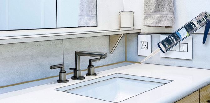 Banyo ve mutfaklarda hijyen sağlayan silikon: Bostik Forever Saniter
