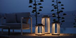 Bahçelerin sıradışı aydınlatmaları Türkiye'de…