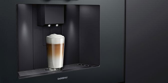 Gaggenau'nun tam otomatik espresso makineleri ile evde profesyonel kahve keyfi…