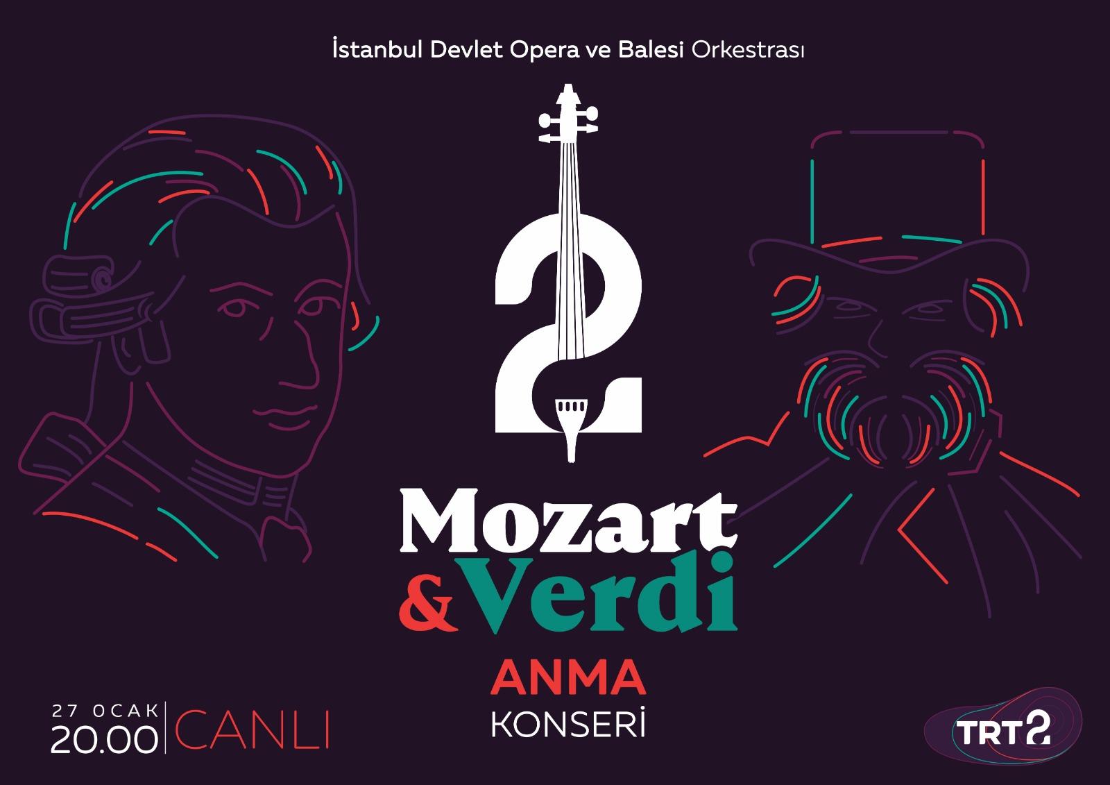 """""""Mozart ve Verdi Anma Konseri"""""""