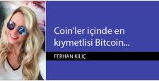 Coin'ler içinde en kıymetlisi Bitcoin…