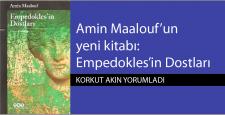 Amin Maalouf'un yeni kitabı: Empedokles'in Dostları