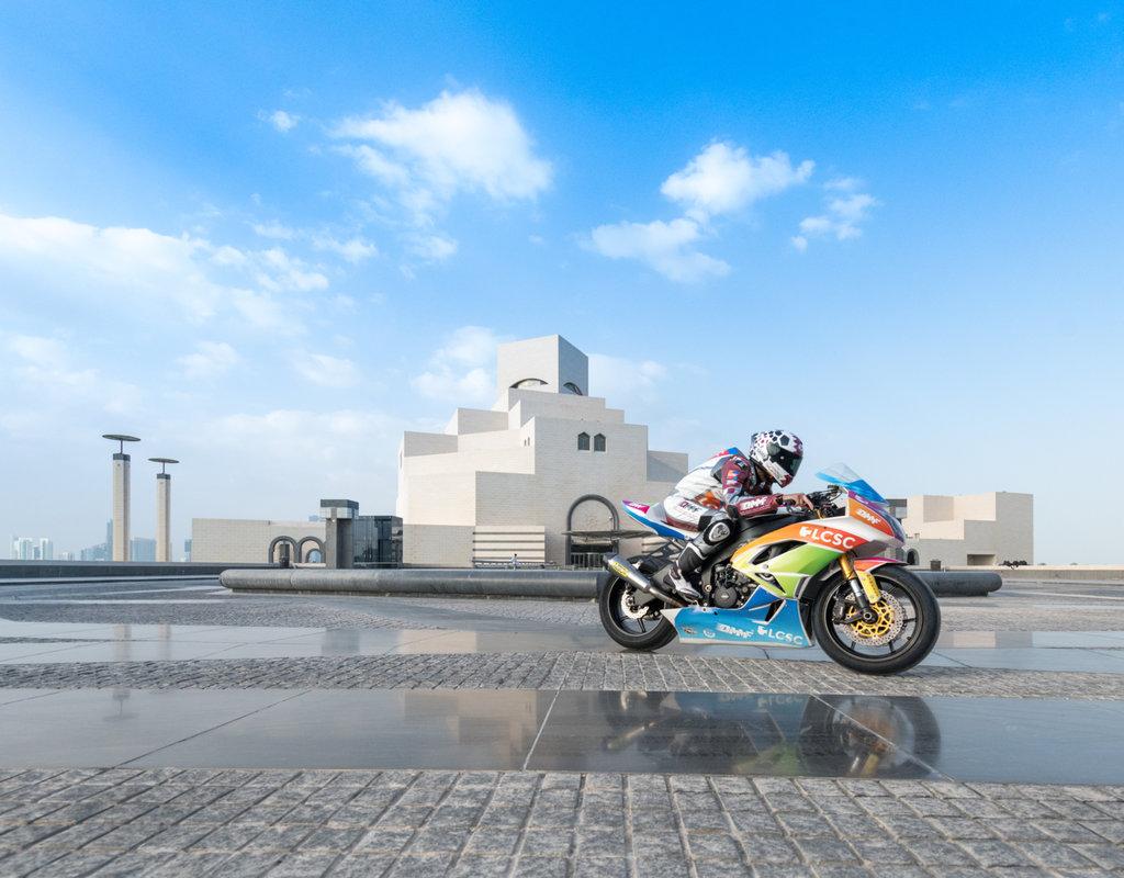 Katar, göz kamaştırıcı şovla iki MotoGP yarışına ev sahipliği yapmaya hazırlanıyor