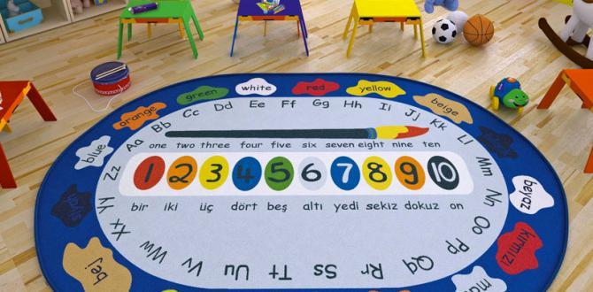 Confetti çocuk halıları çocukların zekâ becerilerini geliştiriyor
