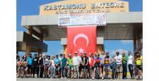 Kastamonu'da pedallar sürdürülebilir bir yaşam için döndü