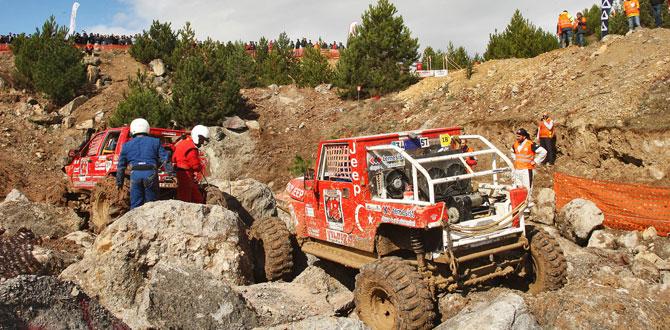 Bolu'da AVC Team-Osmanlı Offroad zirvede…