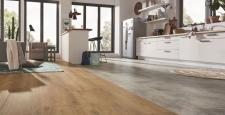 New laminate floors conquer kitchens and bathrooms