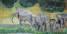 Ressam Büyükelçi Sedef Yavuzalp, 6. Çağdaş Sanat Fuarı'na katılıyor…