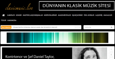 Klasik müzikle ilgili en güncel haberleri bu portaldan izleyin…
