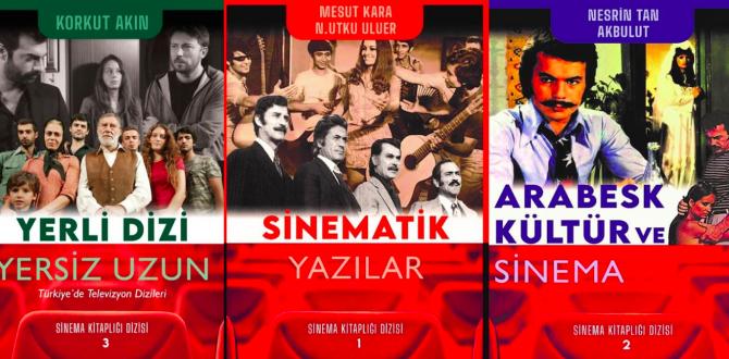 Klaros Yayınları, sinema kitapları yayınlamaya başladı
