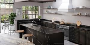 Mutfaklarda kontrast ve uyumu yakalayın
