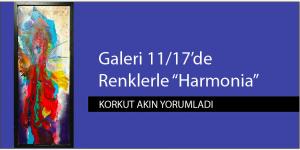 """Galeri 11/17'de Renklerle """"Harmonia"""""""