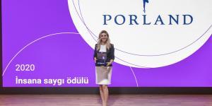 Porland, İnsana Saygı Ödülü'nün Sahibi Oldu
